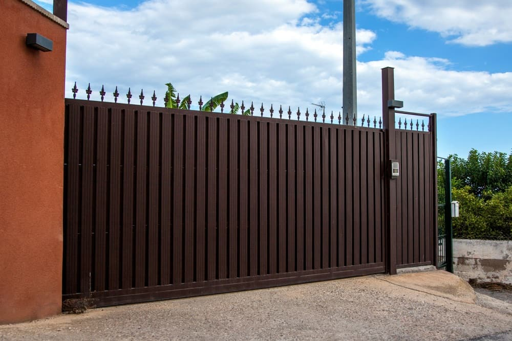 Safeguard Your Home By Installing Colorbond Fencing. Strong, durable and secure construction for the house