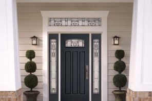 When One Door Closes: What Are the Benefits of Fiberglass Doors? Three pane door