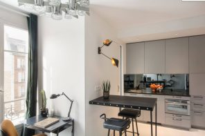Overview of 10+ Biggest Home Design Trends in 2019 so Far. Complex lighting at modern kitchen