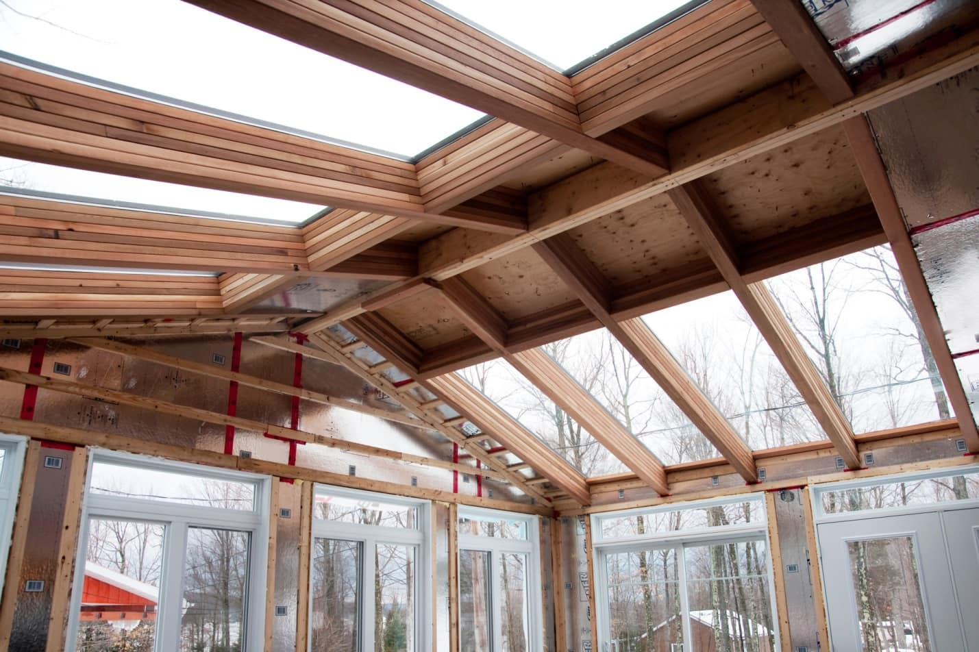 Adding it All Up: The Top Benefits of a Home Addition. The sunroom made as annex to the building