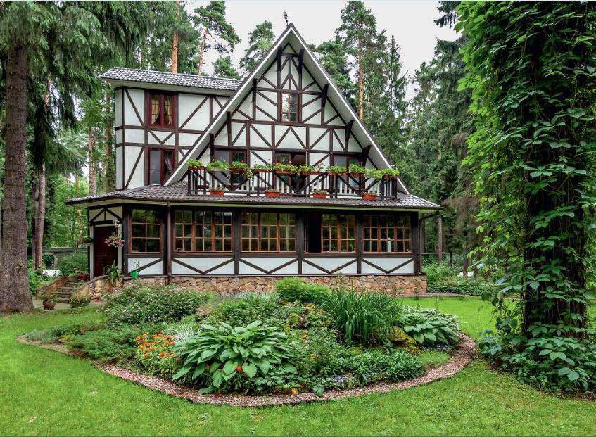 Best Landscape Design Ideas: Decorating Your Courtyard. Gorgeous Scandinavian facade