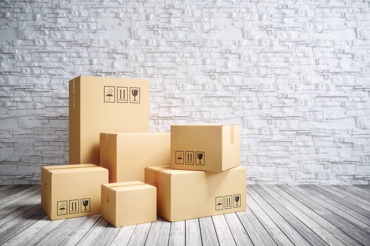 Call My Realtor, I'm Bored: 8 Signs It's Time to Move to a New City. Boxes ready for relocation