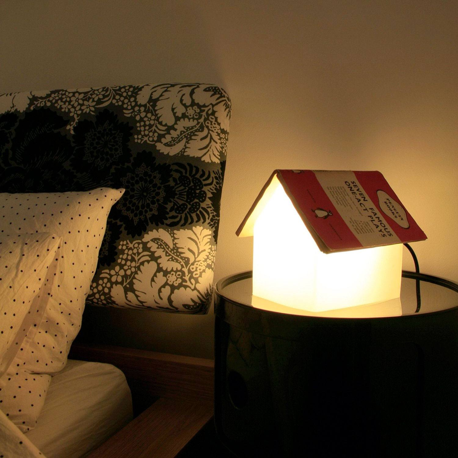 Night Lamps at the Bedroom: Necessary Lighting Fixtures. Mini-house