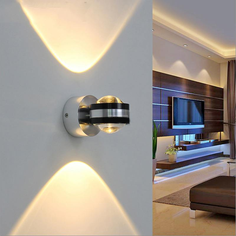 Night Lamps at the Bedroom: Necessary Lighting Fixtures. Two-side pointed sconce