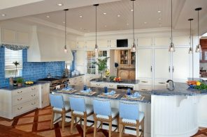 Mediterranean Style Kitchen Interior Design Ideas with Photos