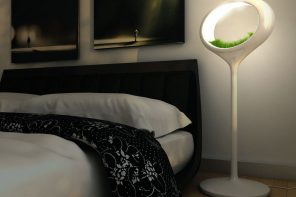 Night Lamps at the Bedroom: Necessary Lighting Fixtures. Eco designed lamp