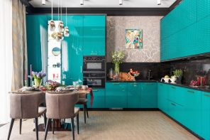 Fusion Style Kitchen Interior Design: Features and Arrangement Ideas