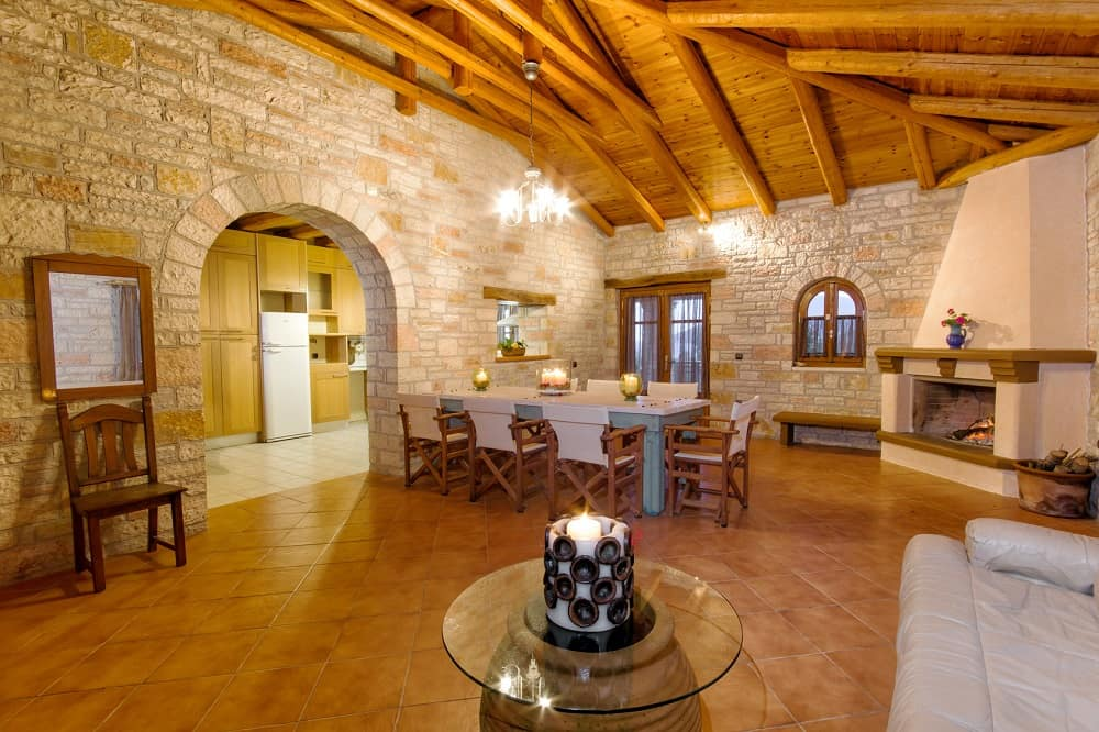 Reason To Choose The Cottage Style Home Designs For Your New Home. Large dining room in medieval castle design