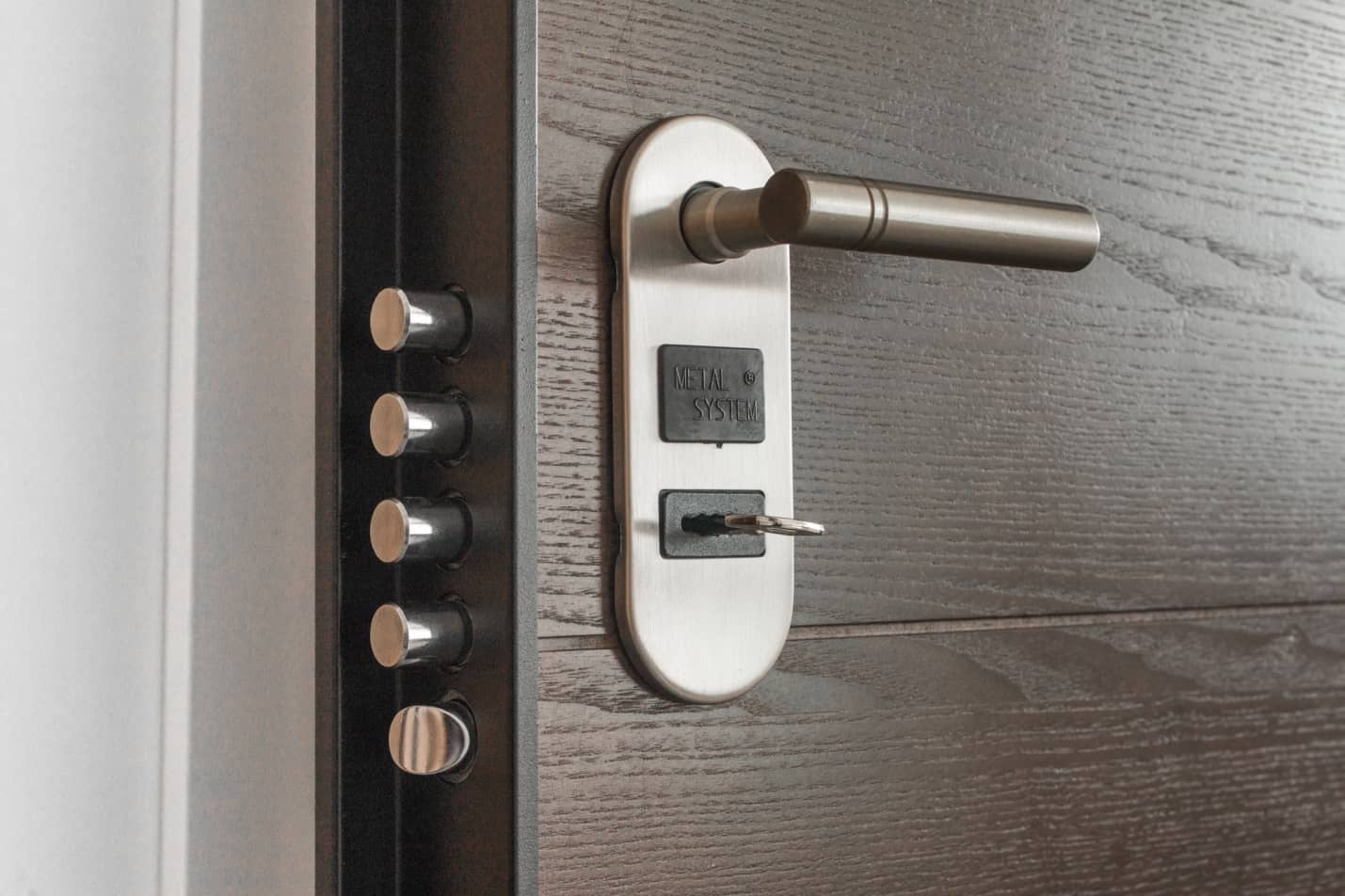 Professional or Self-Monitoring Alarm System: Which is Right for You? Great secure door with Italian lock