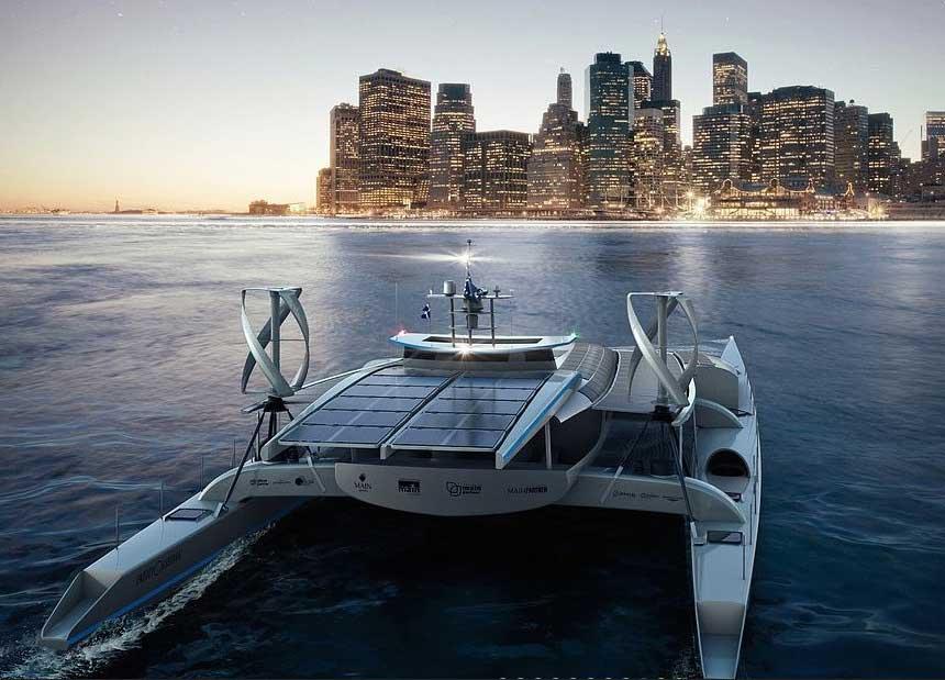 Solar yacht Energy Observer