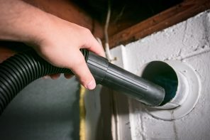 7 Telltale Signs That Your Dryer Exhaust Vent Needs Cleaning. The ventilation hole vacuuming