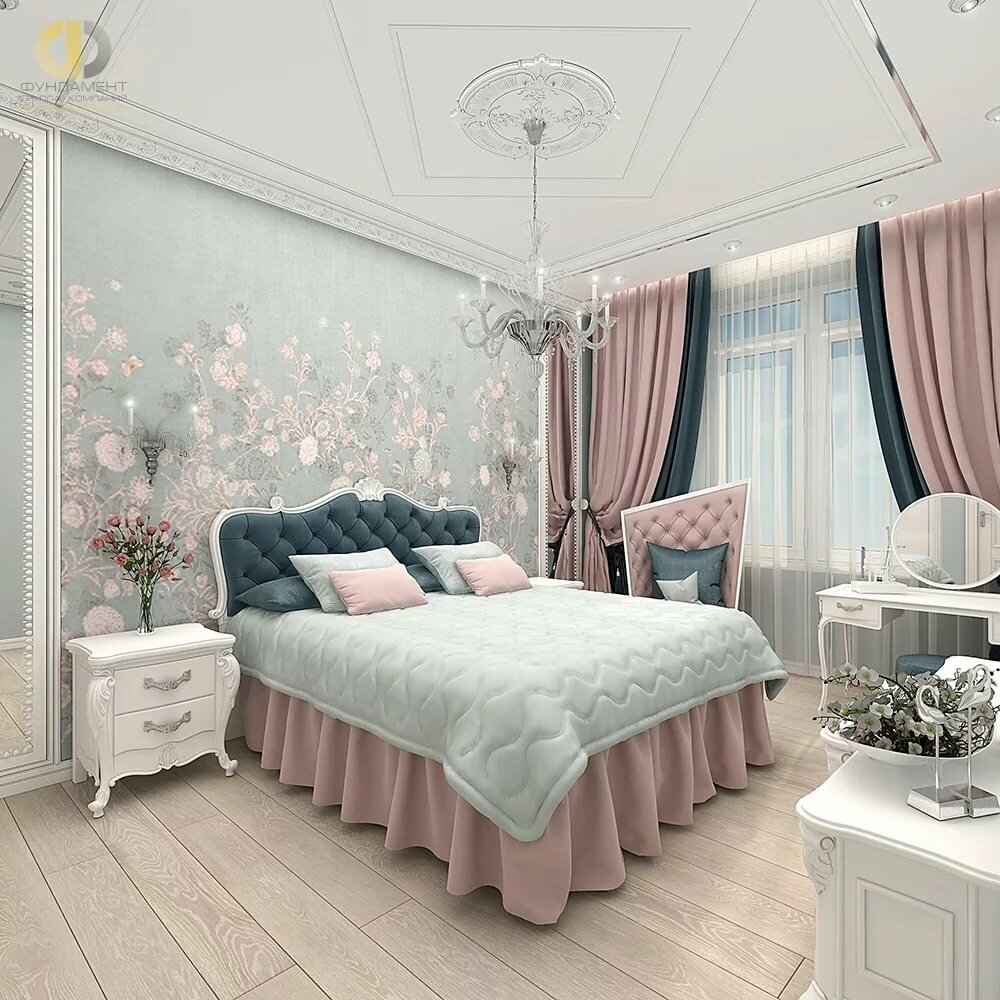 Gorgeous bedroom suited for a queen