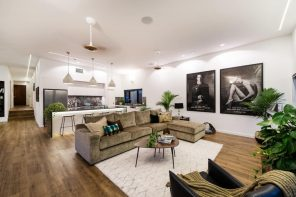 Benefits Of Edmonton's Green Energy Drive. Ecological modern interior with central living area