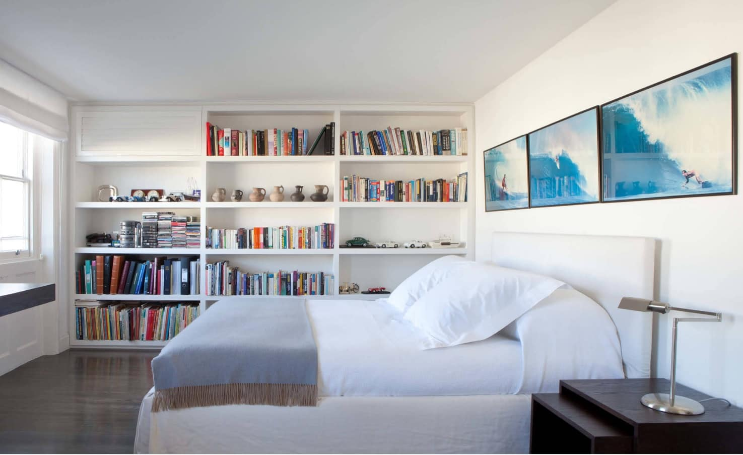 What are the Best Mattresses Suited for Lower Back Pain? Functional casual styled bedroom with shelving
