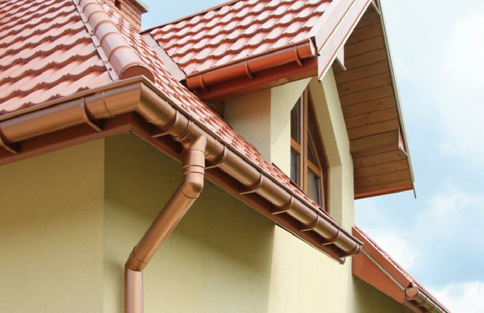 5 Problems That Can Cause Lasting Damage To Your Home. Top drain system at the facade