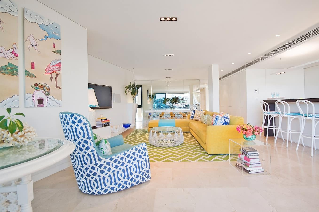 How to Make Your New Home Extremely Energy Efficient. Contemporary styled colorful open space layout