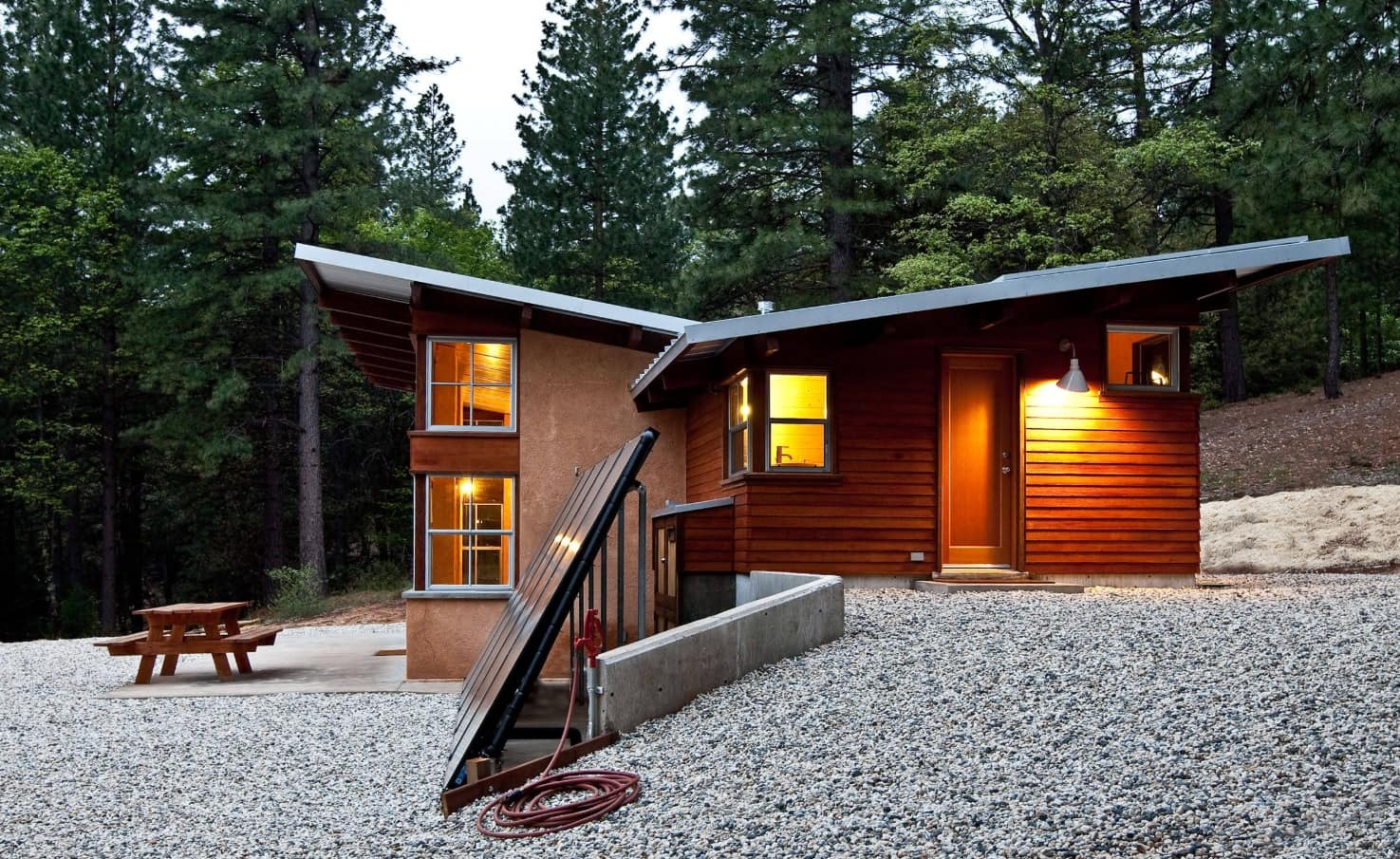 How to Make Your New Home Extremely Energy Efficient. Wooden trimmed house
