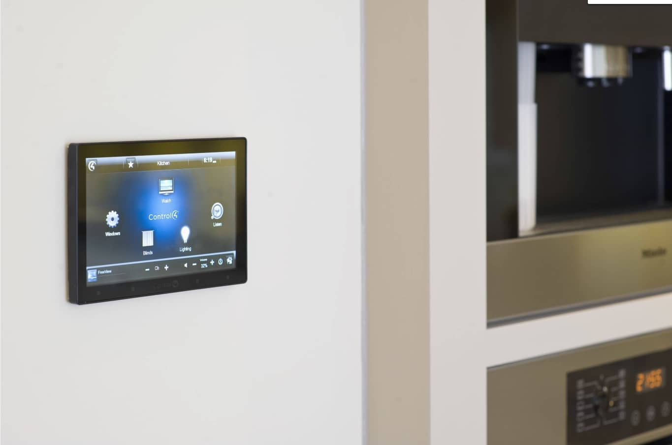 5 HVAC Technology Features to Consider Investing In. Smart house system with the sensor screen of controlling the conitioning