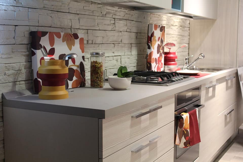 The Relevance and Advantages of Kitchen Renovation. Striking whitewashed brickwork backsplash for contemporary styled room