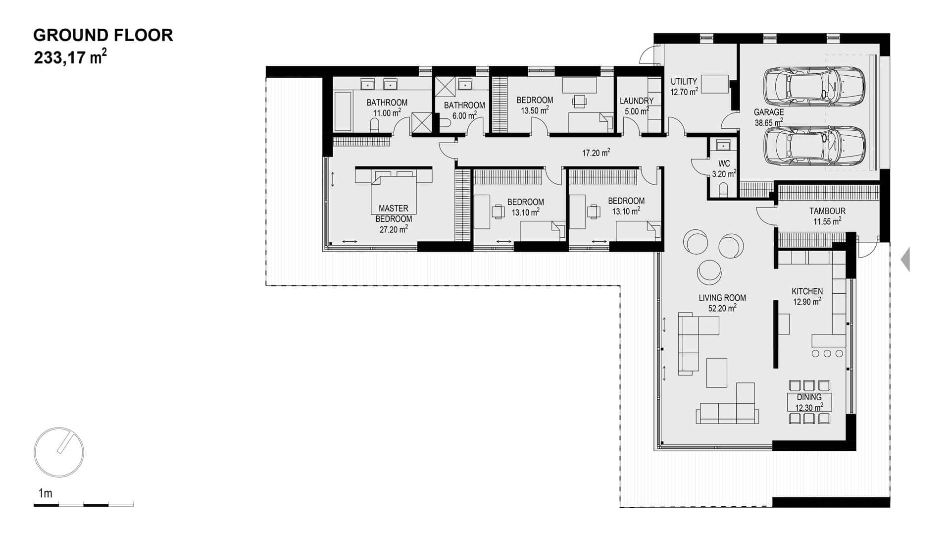 Modern Unexpected Concrete Flat Roof House Plans Small Design Ideas