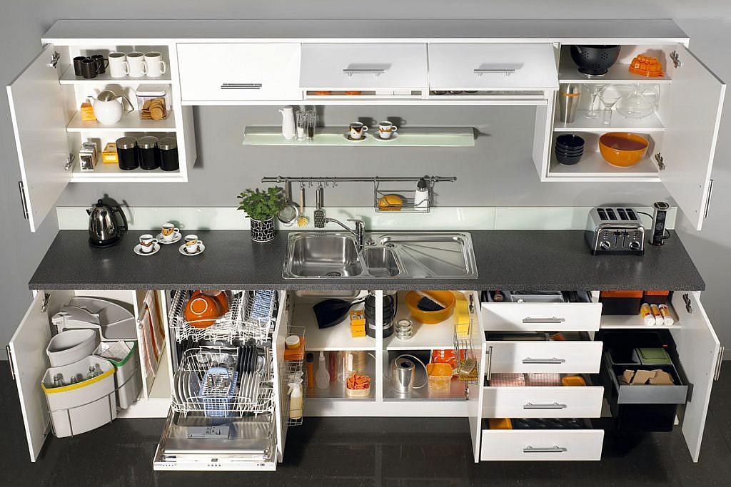 Multifunctional kitchen storage