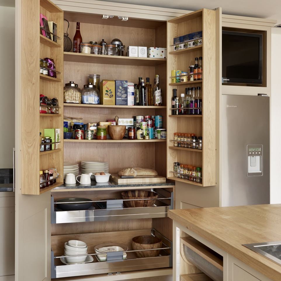 Organizing Kitchen Storage Systems and Pantry for Ultimate Comfort. Nice idea of open shelving