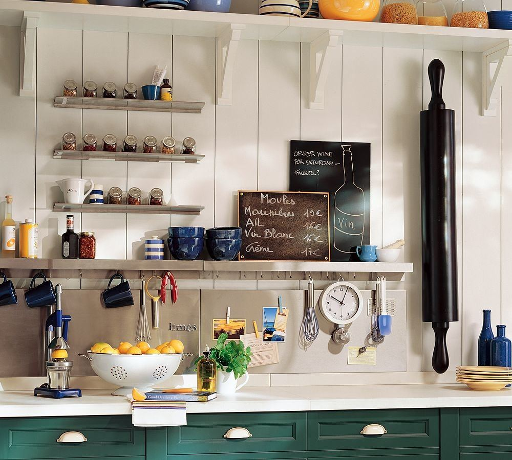 Organizing Kitchen Storage Systems and Pantry for Ultimate Comfort. Casual design and open shelving