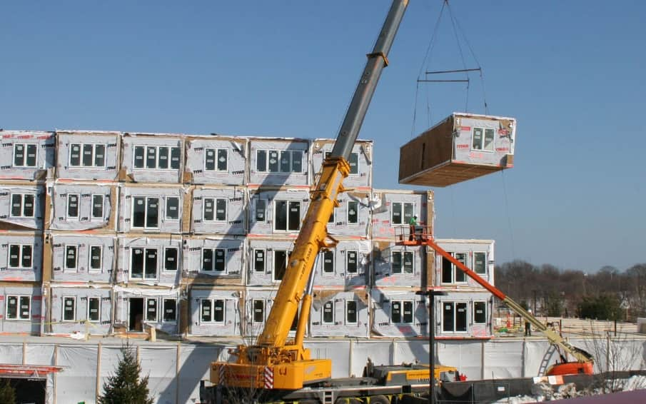 Top 5 Construction Technology Trends in 2020. Prefabricated modules of the future apartment house