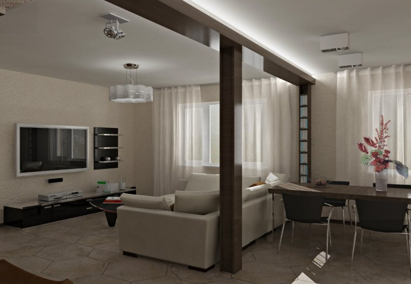 Masculine Interior Design Ideas that Give Kernel to Your Home. Men most often prefer modern studio apartments.