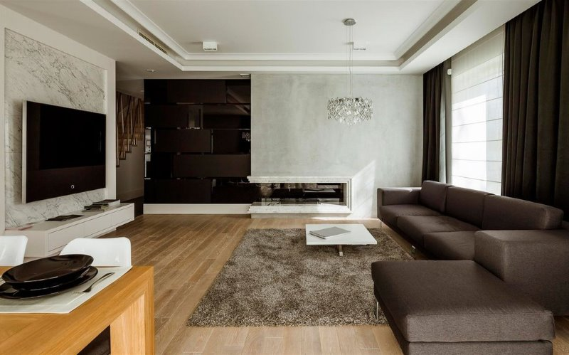 Modern minimalism is first of all natural colors, clean lines and the absence of unnecessary décor