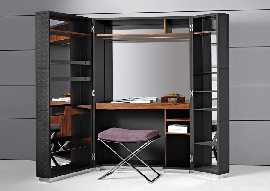For your workplace, you can use a folding wardrobe
