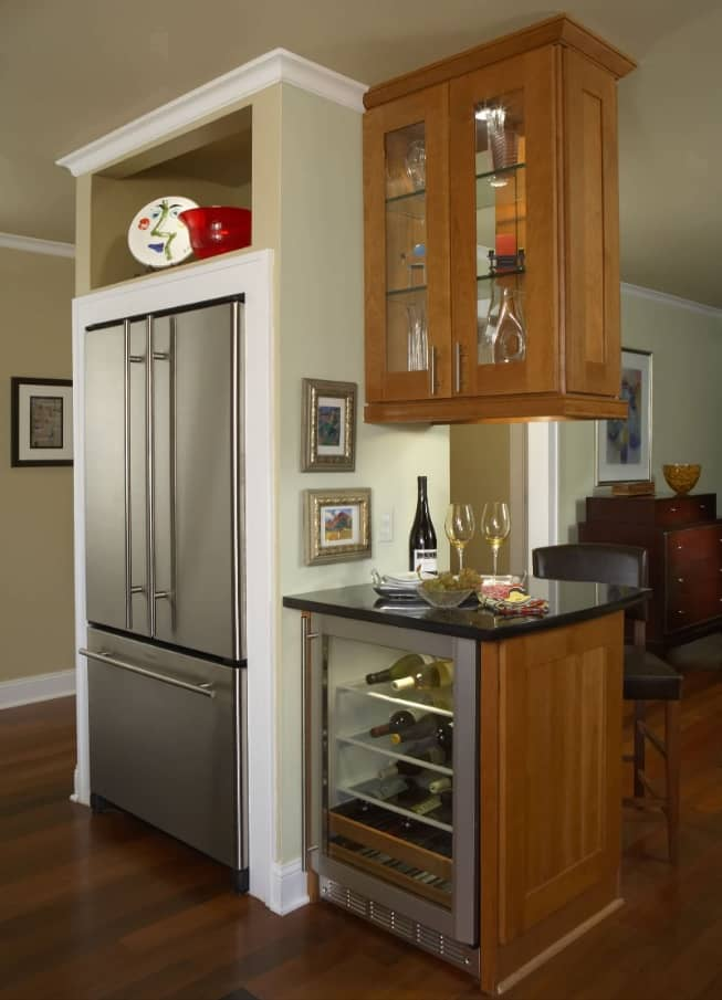 Enhance Home Interior with Stylish Appliances Without Breaking Bank. Combination of styles, materials and stuff