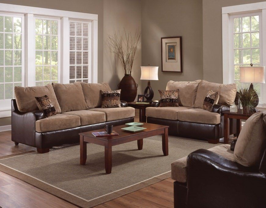 Exceptional Nobility and Elegance of Brown Living Room. Coffee color tones for ethnic designed room