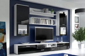 Living Room Cabinet Furniture to Add Practilcal Solutions to the Interior