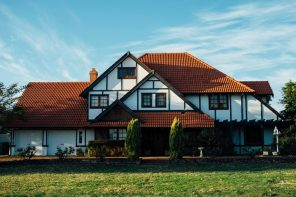 5 Benefits of Building a Custom Home. Nice Dutch traditional house with red roof