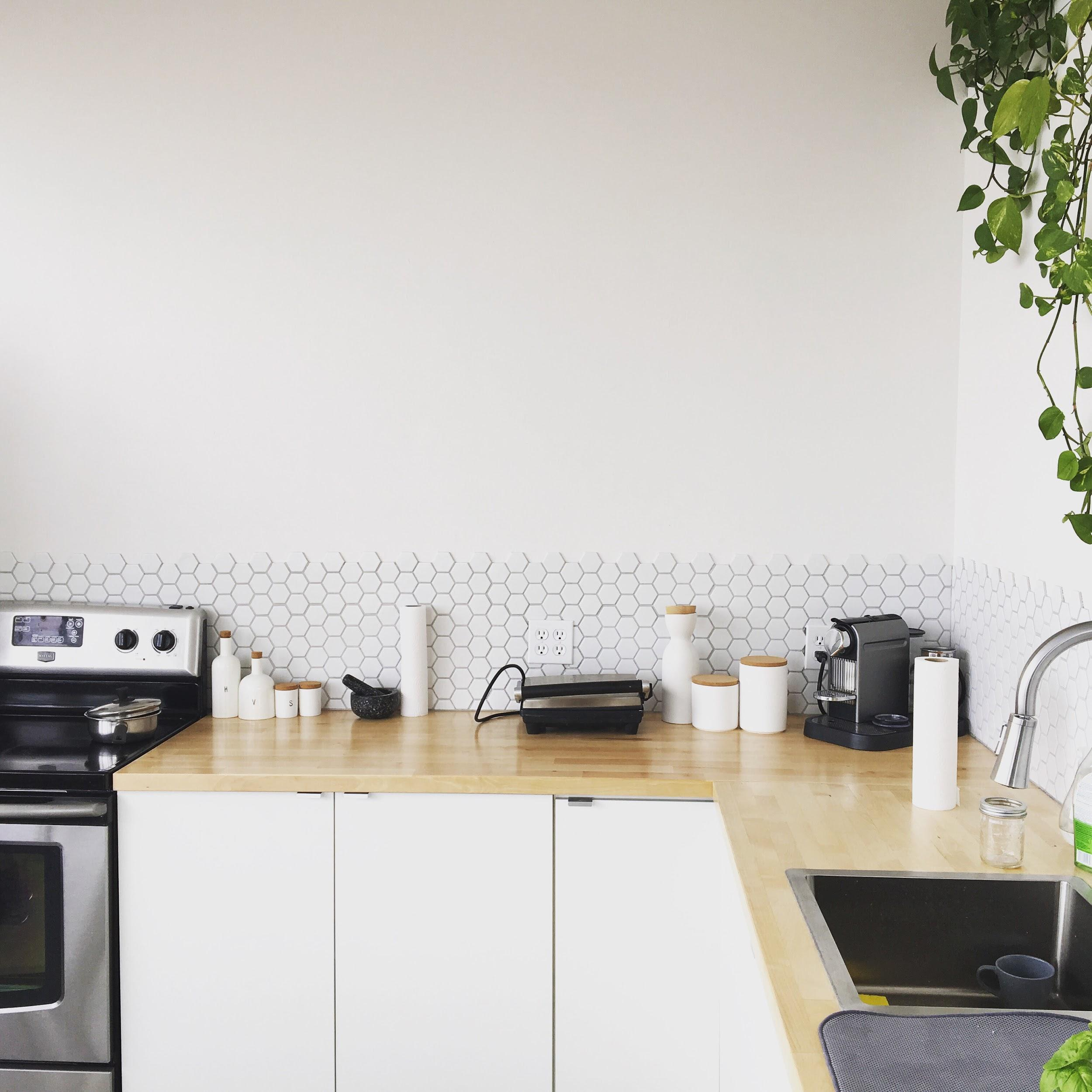 Soundproof Your Kitchen In 4 Easy Ways. Casual designed room with white creamy walls