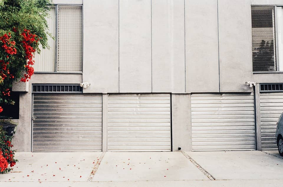 Common Reasons Why Garage Doors Won't Open that You Probably Don't Know About. Industrial concrete facades