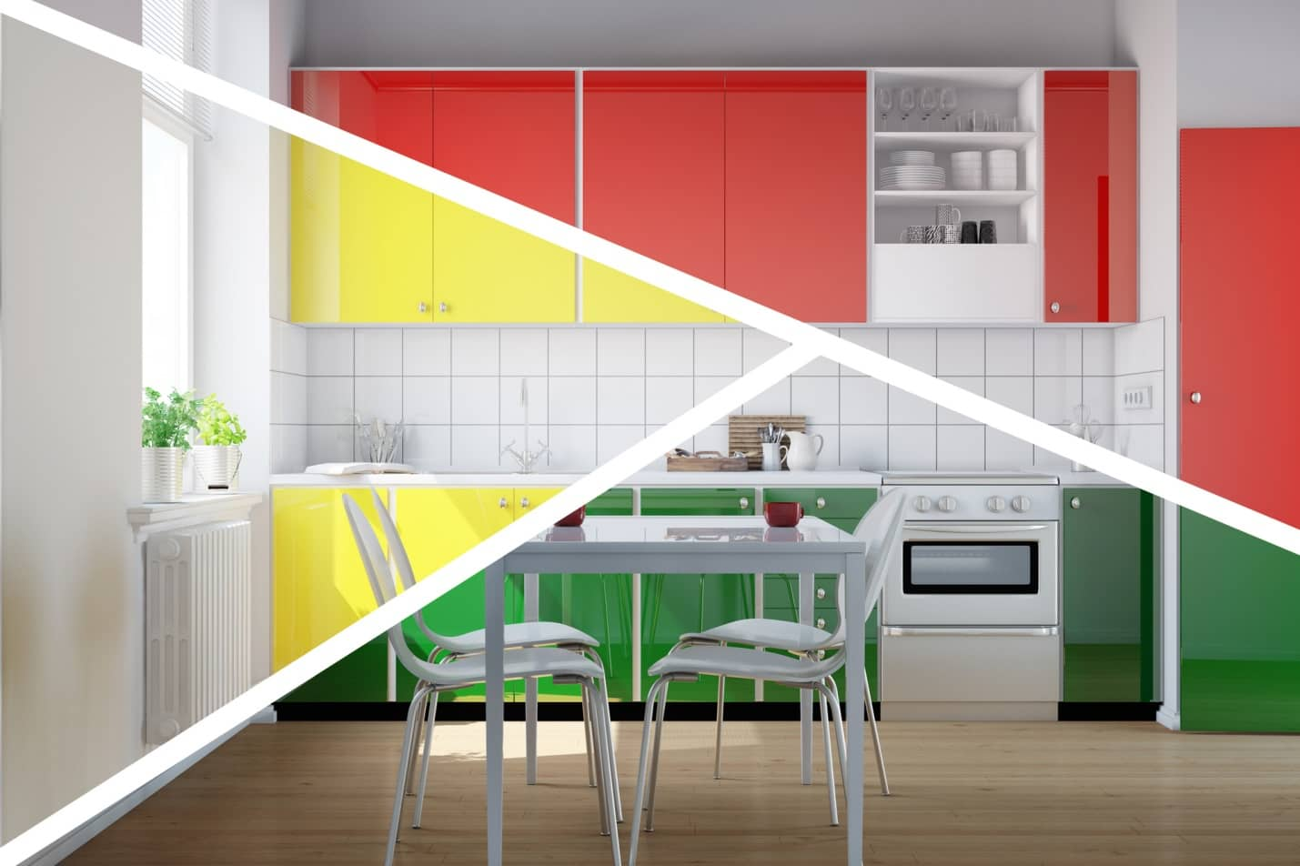 7 Pro Designer Tips for Redoing Kitchen Cabinets. The trying of different colors for modern facades