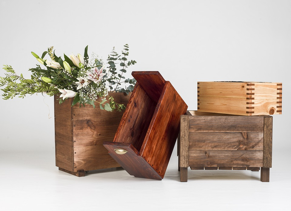 Top Home Interior Wood Work Crafts to Opt-in For. Decorative boxes for greenery