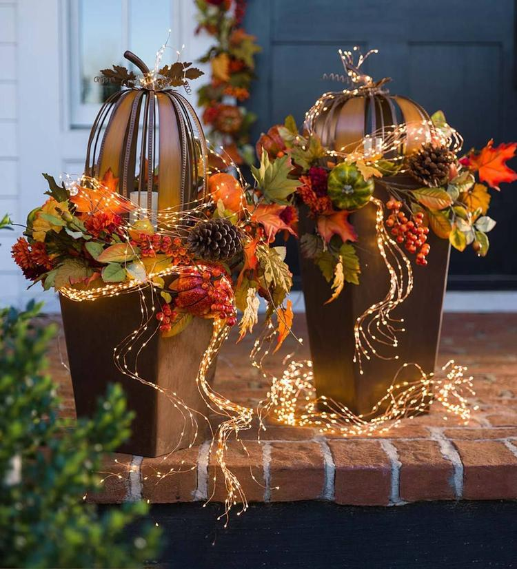 Extremely Easy Yard Lighting Tips. Still life baskets to decorate the entrance