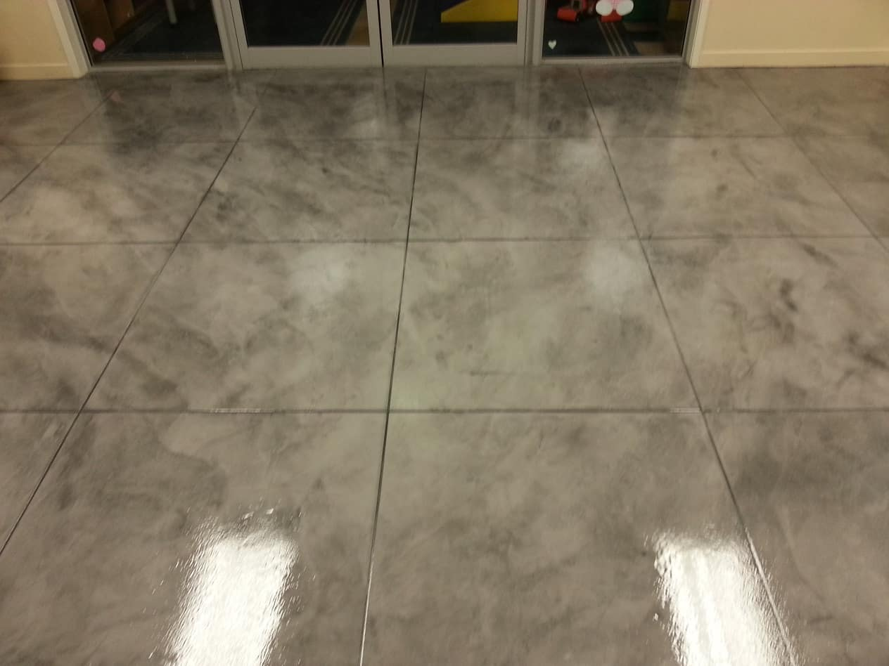 Why You Should Use Polyaspartic Floor Coating in Your Business Establishment. Great glossy tiled coating on the floor