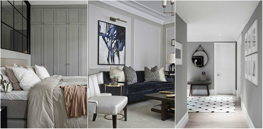 Color Psychology in interior design: How to Use Colors for Own Profit. Gray is refined and sophisticated