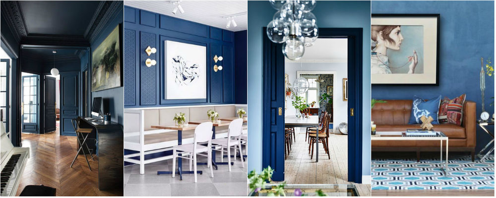 Color Psychology in interior design: How to Use Colors for Own Profit. Blue is the color of intuition, honesty and kindness.