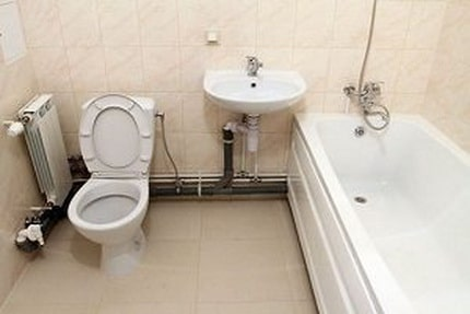 Bathroom Plumbing: Schemes of Installation, Advice. Pipe routing in the bathroom