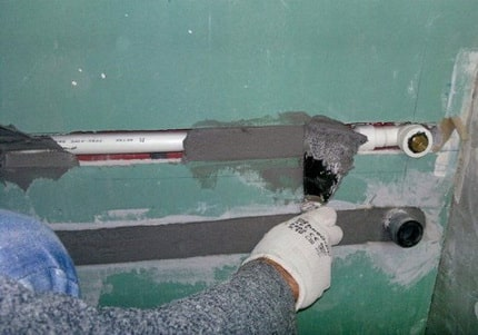Concealed Pipe Installation