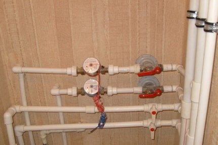 Arrangement of water supply