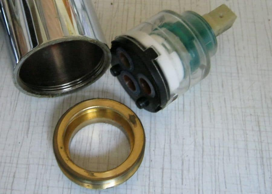 How to Disassemble Kitchen Faucet and Change Its Cartridge. How to Disassemble Kitchen Faucet and Change Its Cartridge. The cartridge disassembled
