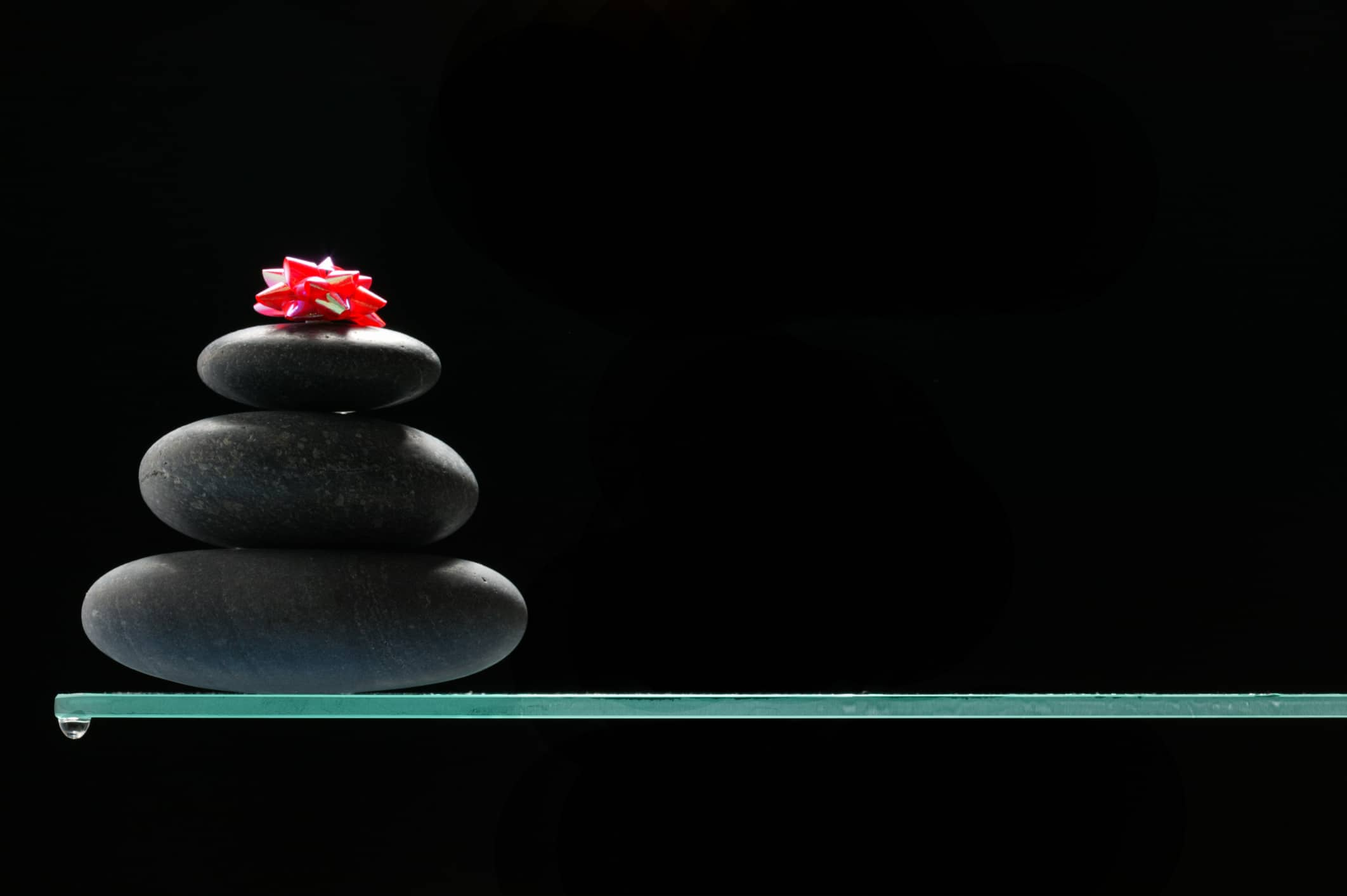 Feng Shui Interior Design and Decoration Philosophy. The balance of pebbles