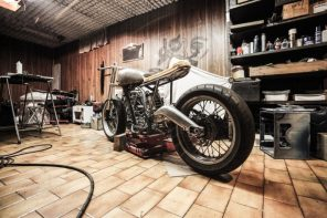 Building a Garage From the Ground-up: Step by Step Guide. Conceptual bike