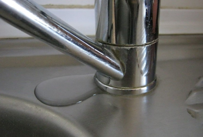Kitchen Sink Faucet Leaking At Base Diagnostics And Troubleshooting